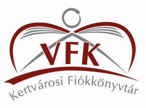Kertvárosi Fiókkönyvtár emblémája