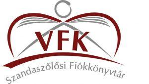 Szandaszőlősi Fiókkönyvtár emblémája