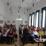 A közönség soraiban Szalay Ferenc polgármester
