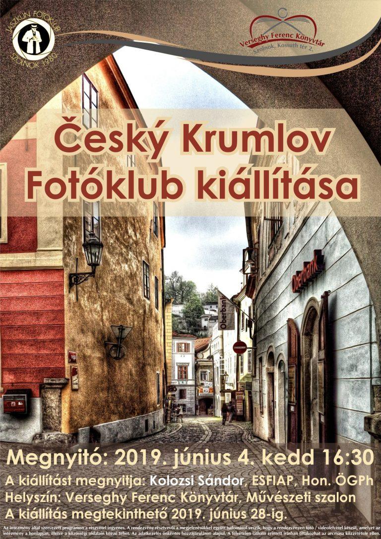 cseh kiállítás plakátja