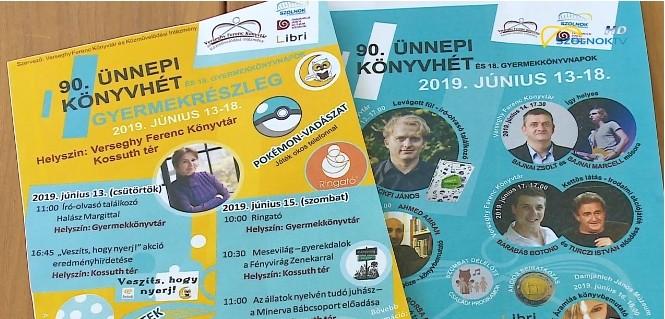 SzolnokTV képernyőmentés a plakátokról