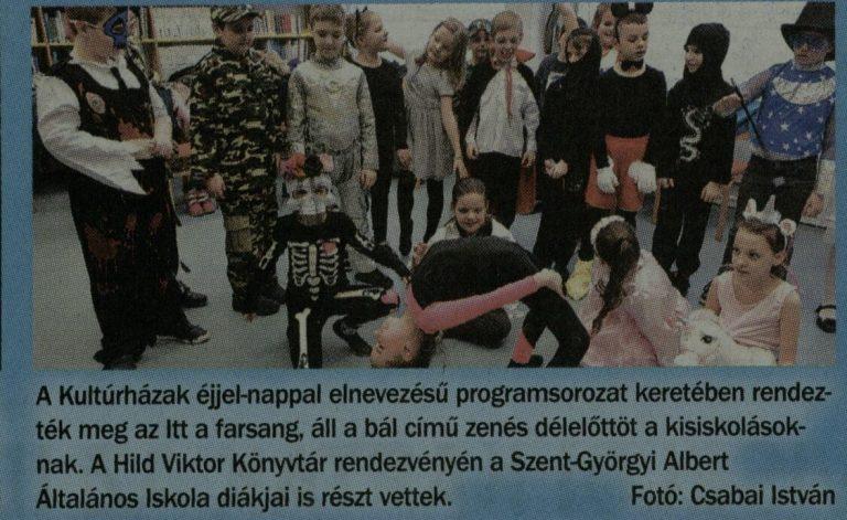 Szolnoki Grátisz, 2019.02.22.