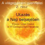2019.10.03. Csillagászati előadás. Utazás a nap belsejébe. Plakát