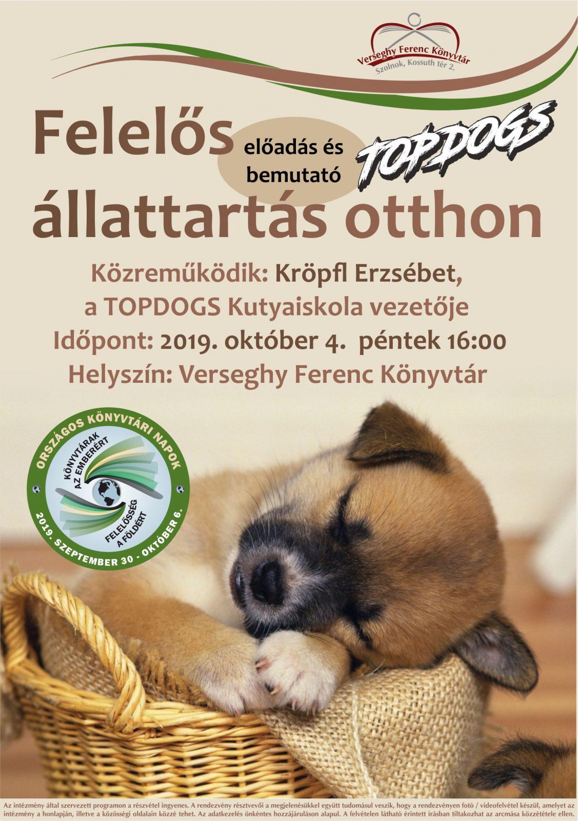 2019.10.04. TopDogs. Plakát.