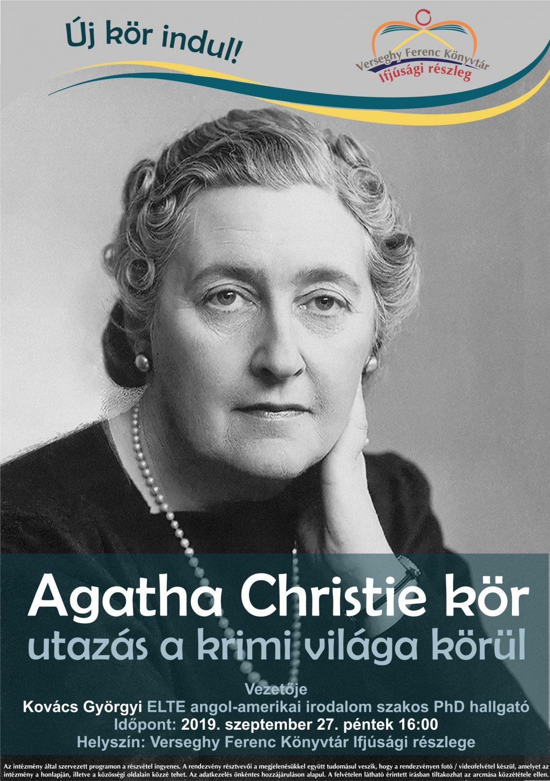 2019.09.27 Agatha Christie kör. Plakát