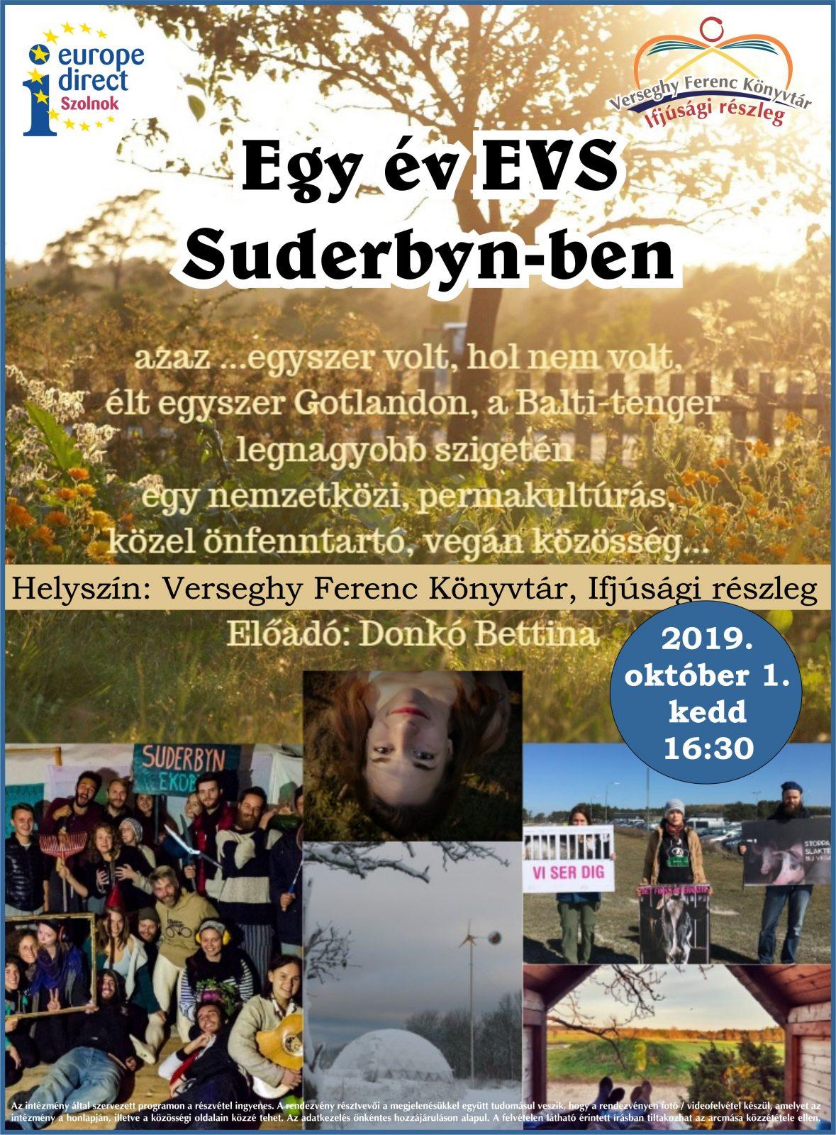 2019.10.01 Gotlandi élménybeszámoló. Plakát