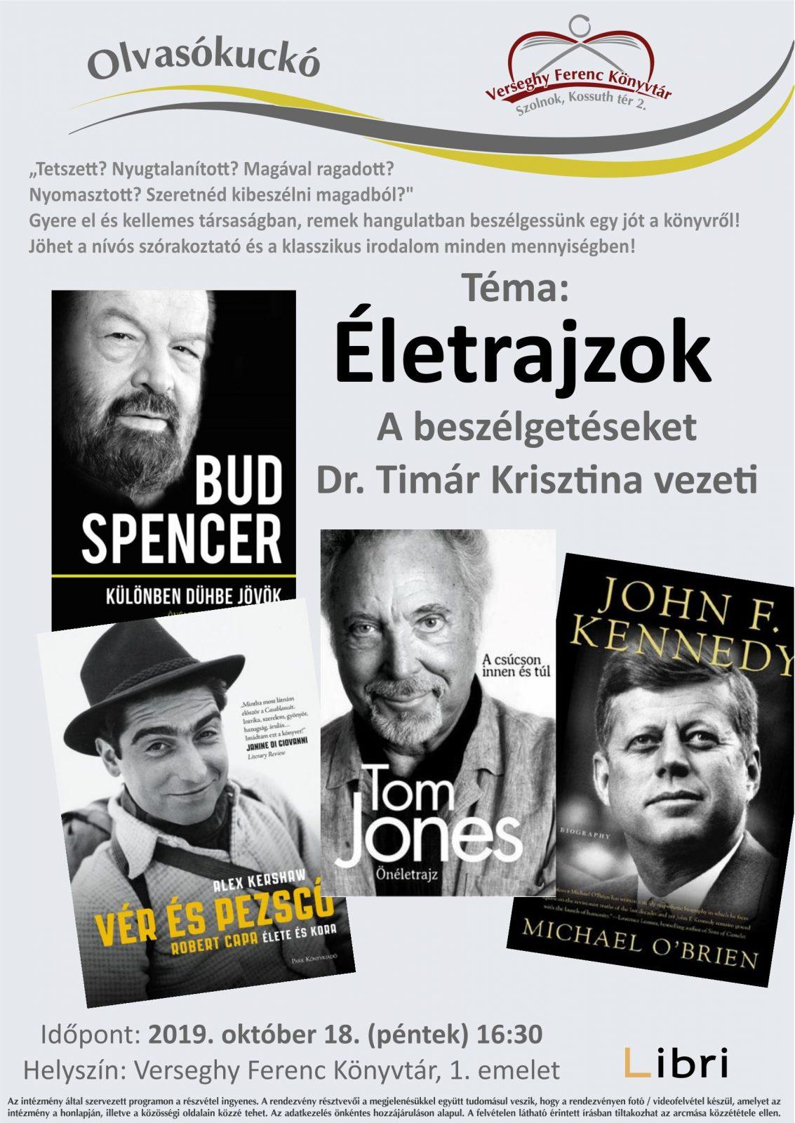 2019.10.18. Olvasókuckó. Plakát