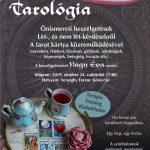 2019.10.24. Tarológia klub. Plakát