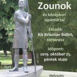2019.10.25. Szolnoki (h)arcok sorozat. Plakát