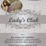 2019.11.28. Lady's Club. Plakát