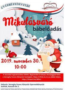 Mikulás báb plakátja