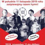 2019.11.11. Lengyel Himnusz közösen. Plakát
