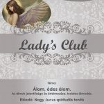2019.12.12. Lady's Club. Plakát