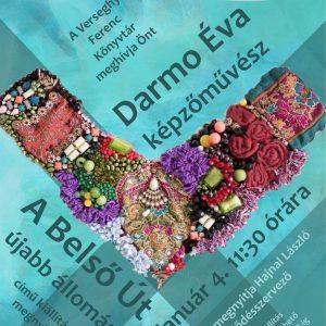 2020.01.04 Dramo Éva kiállítása. Plakát.
