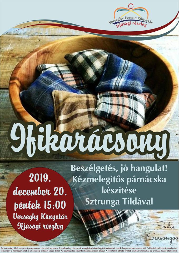 2019.12.20. Ifikarácsony. Plakát