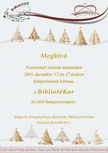 BibliotéKar meghívó plakátja