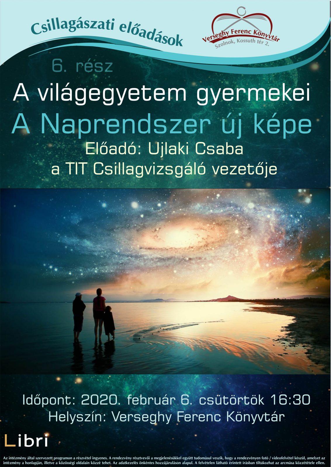 2020.02.06. Csillagászat. Plakát