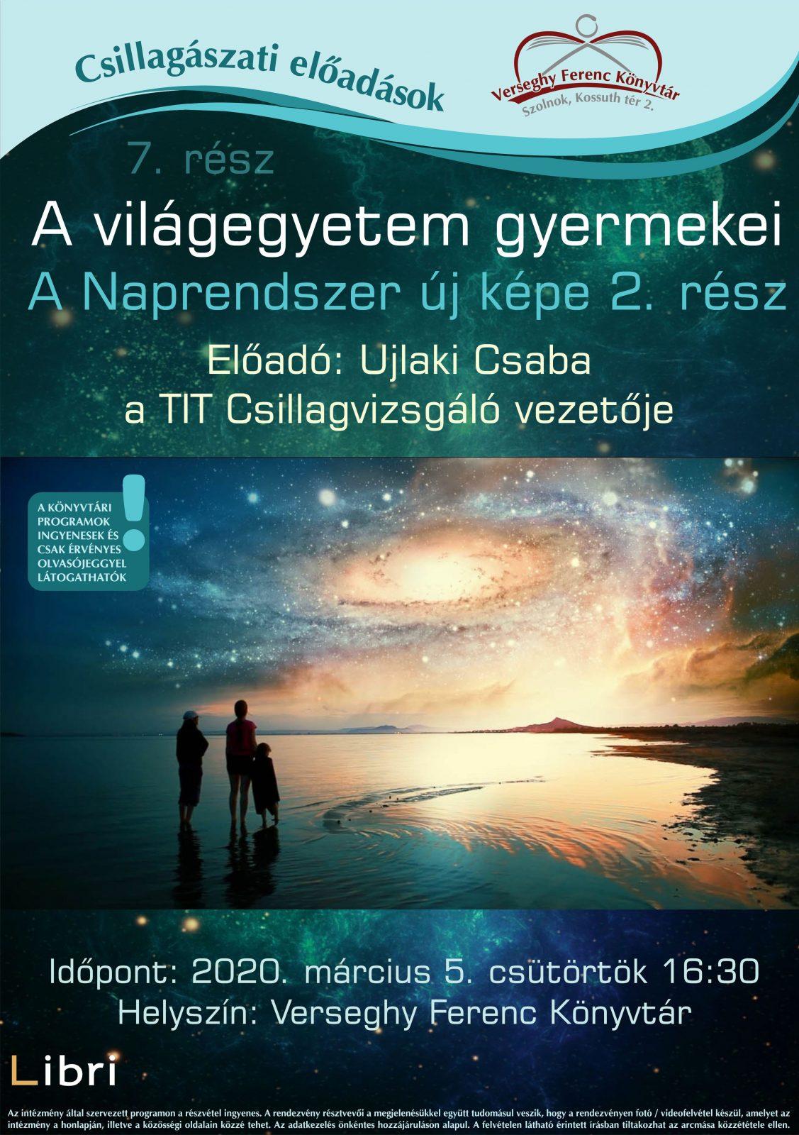 2020.03.05. Csillagászat. Plakát.