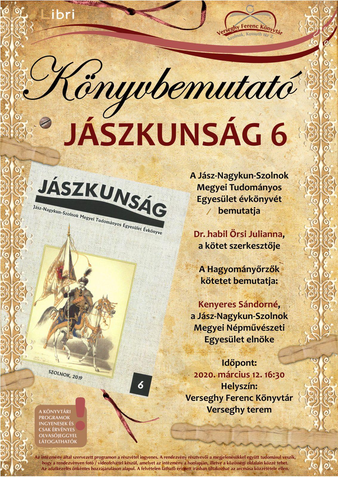 2020.03.12. Jászkunság. Plakát