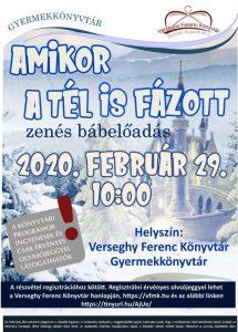Bábelőadás plakátja