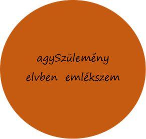 anagramma: agySzülemény elvben emlékszem