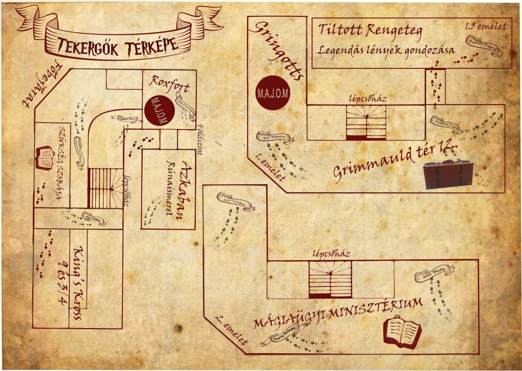 Tekergők térképe