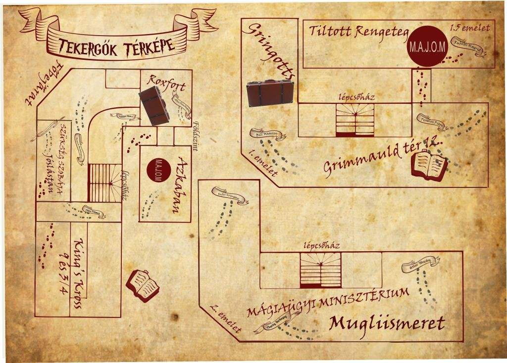 hollóhát térképe