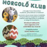Horgoló Klub. 2020.08.27. Plakát.