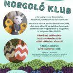 2020.09.10. Horgoló Klub. Plakát