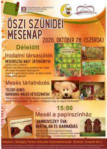 Őszi mesenap plakátja