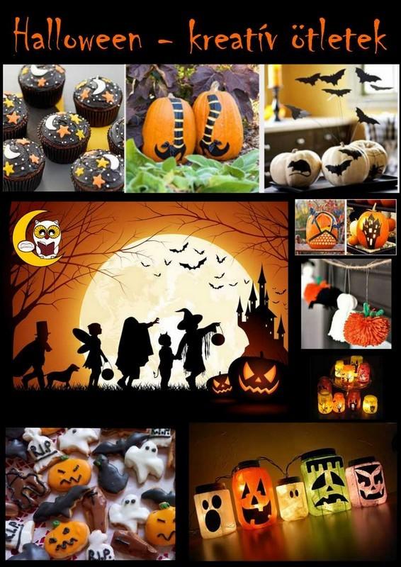 Halloween linkajánló plakátja