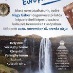 Utazásaim Európában. Plakát. 2020.11.18.