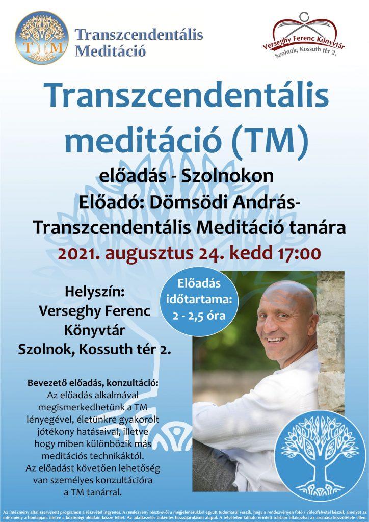 Transzcendentális meditáció - 2021.08.24