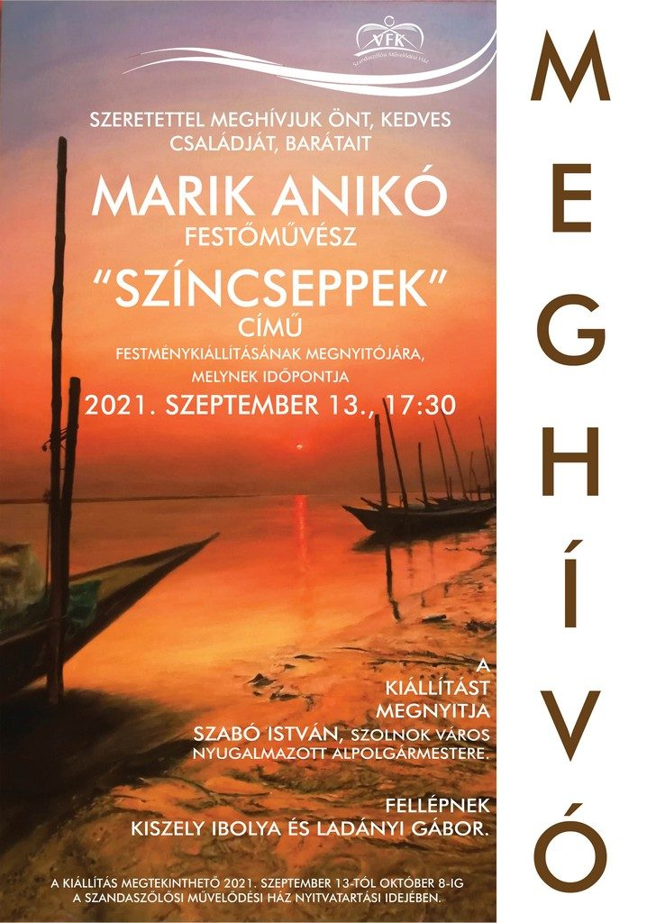 Marik Anikó kiállítás_online